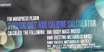 Bmi & bmr calorie wordpress for counter