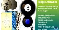 Answers magic plugin