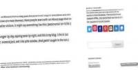 Card profile wordpress widget