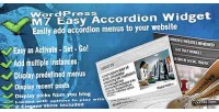 M7 easy accordion menus wordpress for widget