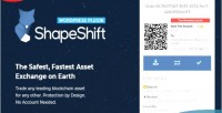 Exchange cryptocurrency plugin wordpress shapeshift