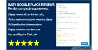 Google easy places reviews