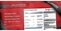 Google extended wordpress for analytics