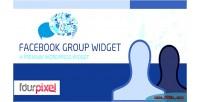 Group facebook widget