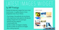 Images latest wordpress for widget