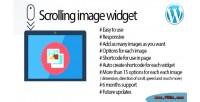 Images scrolling widget