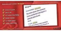 Links advanced widget plugin premium wordpress
