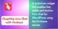 Live chopitup firebase with chat