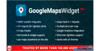Maps google widget pro