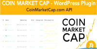 Market coin cap plugin prices cryptocurrency wordpress