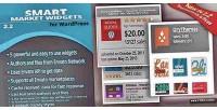 Market smart widgets