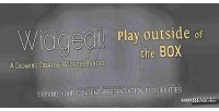 Play widgedi outside box. the of