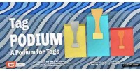 Tag podium a podium widget tags for