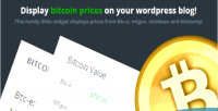 Price bitcoin widget