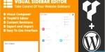 Sidebar visual wordpress for editor