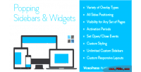 Sidebars popping & wordpress for widgets