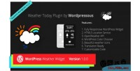 Today weather plugin widget wordpress