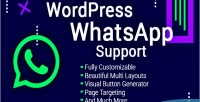 Whatsapp wordpress support