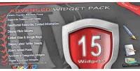 Widget advanced pack