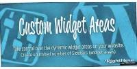 Widget custom wordpress for areas