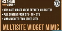 Widget multisite mimic