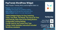 Widget poptrends popular lists rating trending