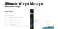 Widget ultimate manager