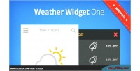 Widget weather one