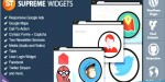 Widgets supreme social plugin wordpress marketing