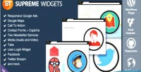 Widgets supreme social plugin wordpress marketing