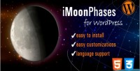 Wordpress imoonphases plugin widget