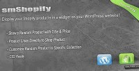 Wordpress smshopify plugin