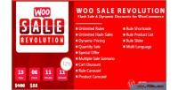 Woo sale revolution flash discounts dynamic sale