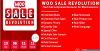 Woo sale revolution flash discounts dynamic sale