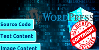 Wordpress copyproof website only plugin is activation enough to websi whole make