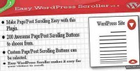 Wordpress easy scroller