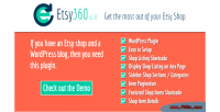 Wordpress etsy shop plugin