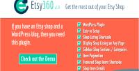 Wordpress etsy shop plugin