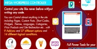 Wordpress mega controller