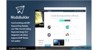 Wordpress modobuilder editor end front