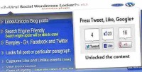 Viral wordpress locker g tweet, unlock to like
