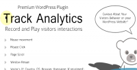 Wp trackanalytics plugin behavior user record