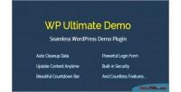 Wp ultimate demo seamless plugin demo wordpress