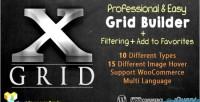 X grid filtering grid advanced