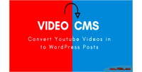 Youtube convert videos posts wordpress into