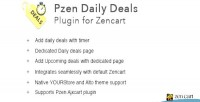 Daily pzen deals cart plugin zen for