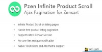Infinite pzen scroll pagination for ajax zencart