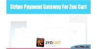Payment stripe gateway cart zen for