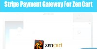 Payment stripe gateway cart zen for