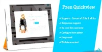 Quickview pzen for zencart